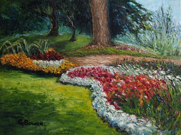 "Edwards Gardens 12"" x 16"" SOLD"